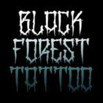 Black forrest tattoo logo