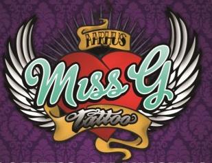 Miss G tattoo århus logo